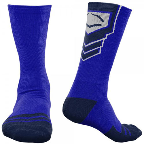 Navy Blue Baseball Socks Mens High Quality