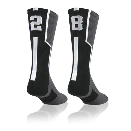 Team Socks Basketball Custom Numbers