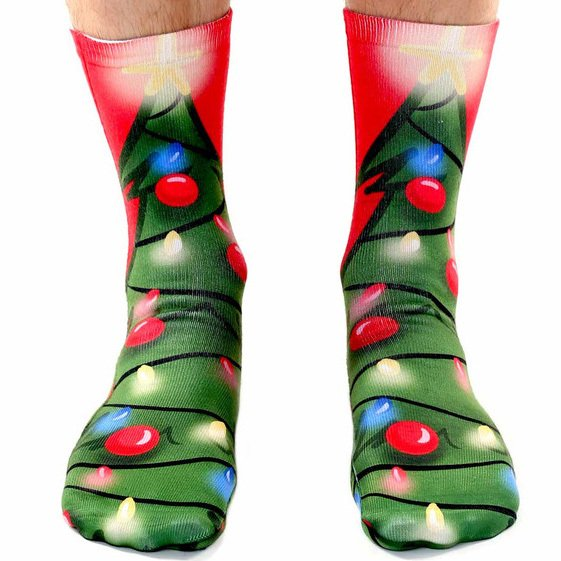 Hot Selling Polyester Socks For Sublimation